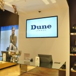 Dune London In-store Digital Promotional Screens