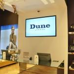 Dune London In-store Digital Promotional Screens