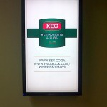 KEG Digital Signage Screen