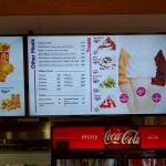 In-store Digital Menu-Board