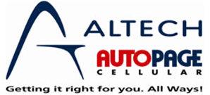 Altech Autopage Cellular Logo