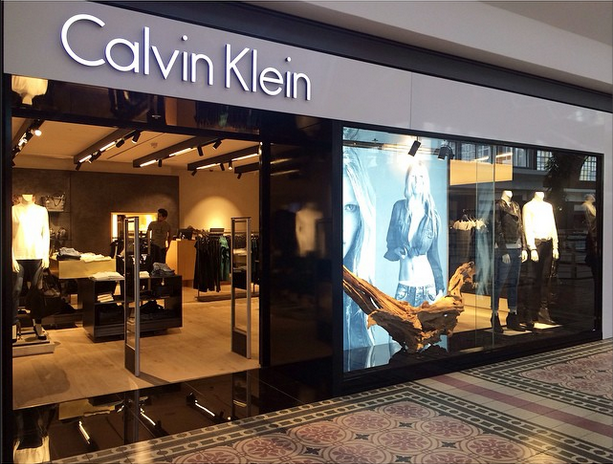 Calvin Klein Moving Tactics Digital Signage Solutions