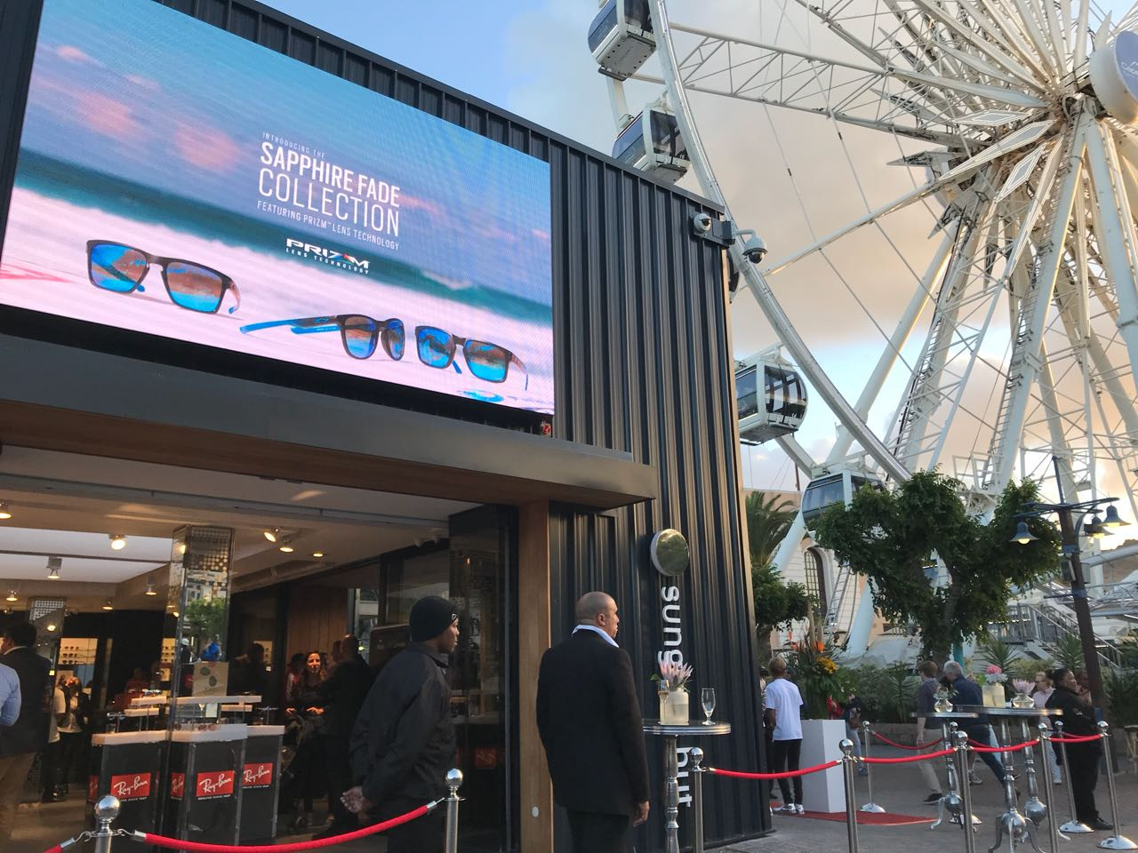 Sunglass Hut works with Moving Tactics to Showcase its Brand at ... f983f0a75e9a
